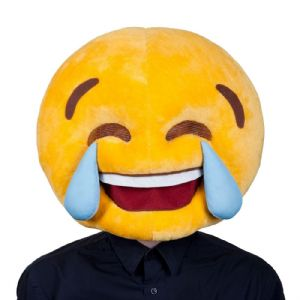 Emoticon Emoji Cry Laughing Mask for adults (MH1285)